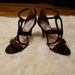 Andrea Cheetah Heels